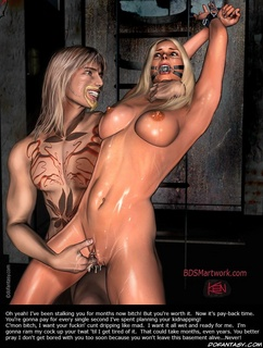Slave art. Open your eyes, slave! Look at your Master's prick/ this's what you gonna get now!