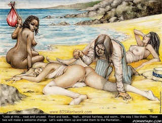 Bdsm cartoons. Look at this...neat and unused. Front and back...almost hairless, and warm...the way i like them!