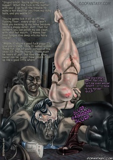 Bdsm art drawings. Not the basement again! Master, please!