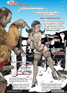 Fetish cartoons. You'll lick the whole floor clean and at the same time you'll fuck yourself hard doggystyle!
