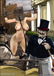Bdsm comics. European aristocrats fuck their slaves!