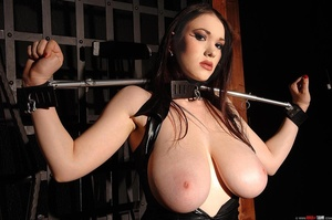 Busty beauty Anna Song tied up and restr - XXX Dessert - Picture 3