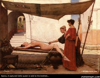 Bdsm art. Women were collected from all over the Empire, loaded onto wagons and rolled to the Rome where the soldiers awaited...