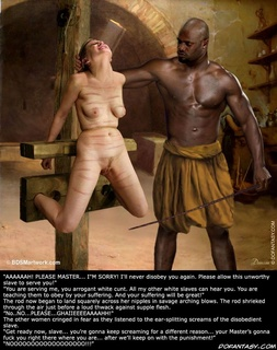 Slave comics. The rod began to land squarely across her nipples in savage arching blows!