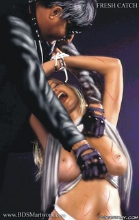 Slave art. The more harsh trainig the more obedience!