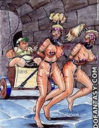 Sex slave comics. One of you slaves, who works…
