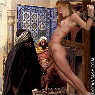 Slave girl comics. Slave girl crucified in the desert and spanked by her cruel Master!