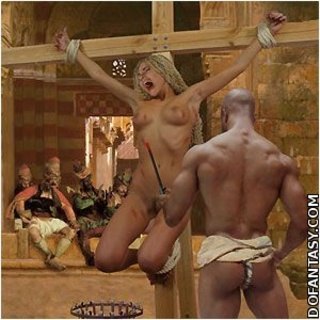 Submission art. White slaves punished for disobediense!