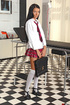 Schoolgirl Sasha Rose examined by deviant doctor