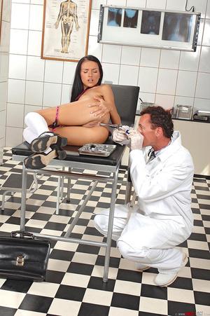 Schoolgirl Sasha Rose examined by devian - XXX Dessert - Picture 12