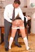 Yvette has hot anal sex in her school uniform
