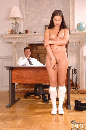 Yvette has hot anal sex in her school un - XXX Dessert - Picture 5