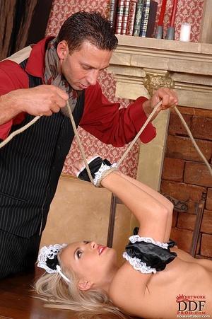 Blonde slut Britney Spring gets her ass  - XXX Dessert - Picture 11