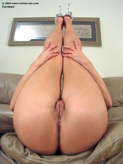 Hot ass and perfectly shaved pussy - Sexy Women in Lingerie - Picture 4