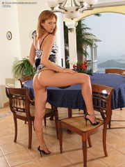 Erotic art pussy with hot blonde - Sexy Women in Lingerie - Picture 3