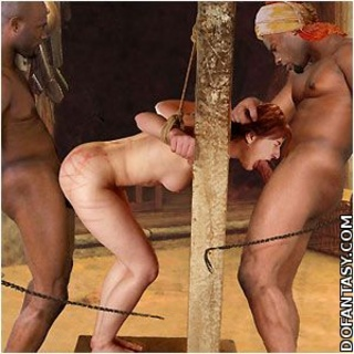 Bondage art. Before slaves will be performed to the Mastwer, they should be trained!