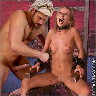 Submission comics. Western slave girls violated by cruel slave trainers!