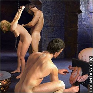 Submission art. Inquisitors torture accused girls around the clock!