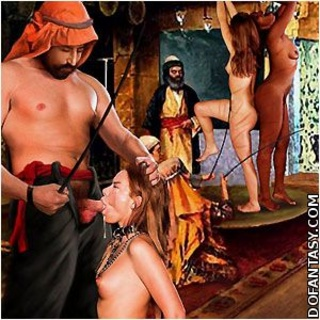Bdsm cartoons. He uses a hook to humiliate his slave!