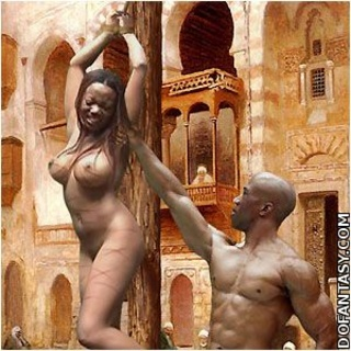 """Free bdsm comics. White slave """"was granted"""" by double penetration!"""