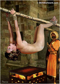 Slave girl. Western slaves are whipped to joy their Masters!