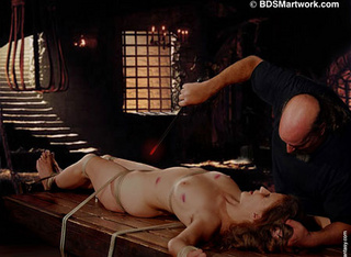 Slave girl. European slaves humiliated by Inquisitors!