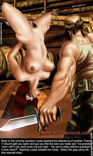 Slave girl comics. You are to obey without question. Is that clear?
