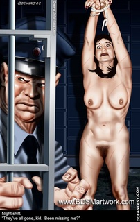 Bondage art. They are all gone, slave! Been mising me?