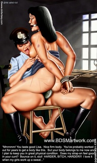 Bdsm art drawings. Pleeeeease! it's splitting me up the middle! I'll suck you and swallow all your cum!