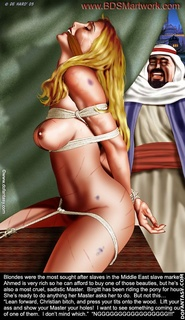 Submission art. Well...you're no more a Lady but a slave!