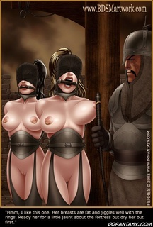 Slave girl. The poor gurl was sent to a convent by her father.