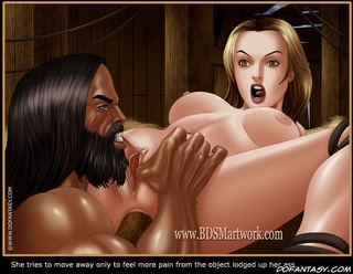 Bdsm art. Look at that, Ivan. Now that is a good gaping shitty asshole!