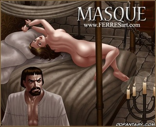 Bdsm art toons. A guy likes rough sex, he tied the girl to the bed and fucked.