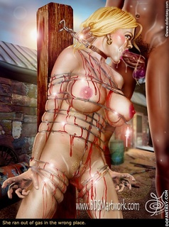 Bondage comics. I laways wanted a slave you know, someone I could do what I wanted with.