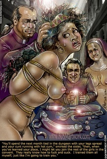 Slave cartoons. Oh yes cun, you will suck. Your're gonna be here with us for long long time.. After cock ker of all time.