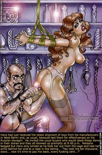 Adult bondage comics. Well then bitch, since you've learned to lick pussy with such skill, perhaps you'd best learn to pleasure a priest cock as well.