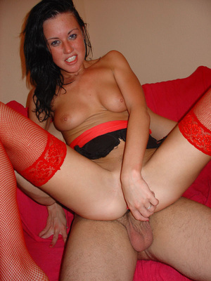 Perfect boobs british chick riding her lover's cock like a cowgirl. Tags:Sexy stockings, cock sucking, homemade, milf. - XXXonXXX - Pic 12