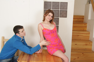 Two guys captured and used redhead teen girl with hice boobs as they want. Tags: Rough sex, bondage sex, pretty face. - XXXonXXX - Pic 1