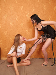 This kinky lesbian teen thought it`d be fun to - XXXonXXX - Pic 2