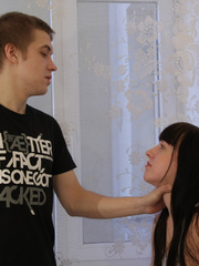 This raven haired teen could already feel her - XXXonXXX - Pic 2
