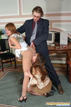 Hot girlfriends and their neighbor launching into frenetic fucking in 3some - XXXonXXX - Pic 13
