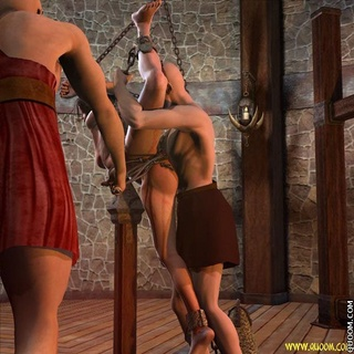 Bondage toons. Innocent girl tortured and fucked!