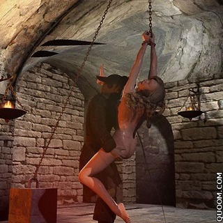Sex slave comics. You took off my panties and tied, what do you want to do?
