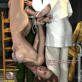 Bondage cartoons. There are three things ireally hate^Little girls who want to play men's games..