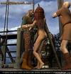 Bondage art. Redhead slim slave humiliated by two…