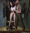 Bondage art. Gestapos victim is spanked and cries…