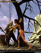 Free bdsm comics. Orks captured beautiful elf girl!