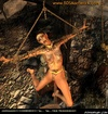 Bdsm cartoons. Elf princess impaled by orks!