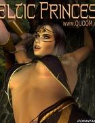 Adult bondage comics. Stigmatized slave gril thinking of her detiny!