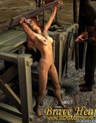 Slave girl. Pirates humiliate their brunette slave…